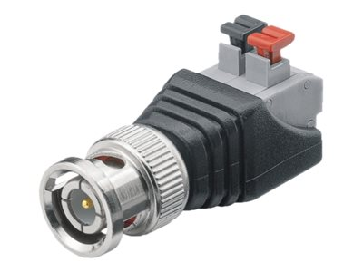 M-CAB - Video-/Audioanschluss - BNC (M) bis 2 pin push-down clamp (Packung mit 10)