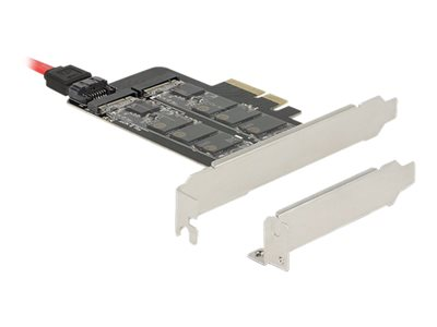 PCI Express x4 Card > 1 x internal M.2 Key B + 1 x internal NVMe M.2 Key M