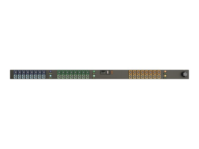 Geist Monitored Upgradeable Unit Level EC MN02E9W1-48L138-6PS15B0A10-S - power distribution unit - 17.2 kW