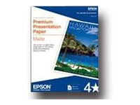 Epson Matte white Letter A Size (8.5 in x 11 in) 167 g/m²