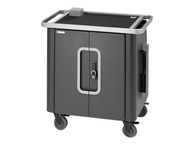 Bretford PowerSync+ Charging Cart 40 Cart (sync and charge) for 40 tablets lockable steel