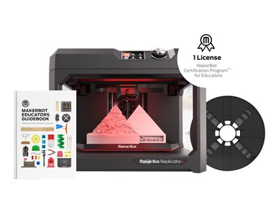 MakerBot Education Starter Kit 3D printer FDM build size up to 11.61 in x 7.68 in x 6.5 in