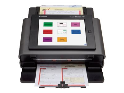 Kodak Scan Station 710 - Document scanner - Duplex - 8.5 in x 34 in - 600 dpi x 600 dpi - up to 70 ppm (mono) / up to 70 ppm (color) - ADF (75 sheets) - up to 6000 scans per day - Gigabit LAN