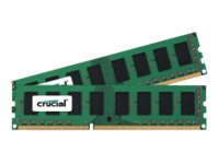 Image of Crucial - DDR3L - 8 GB: 2 x 4 GB - DIMM 240-pin - unbuffered
