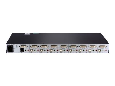 Avocent Switchview SC680 - KVM-/Audio-Switch - 8 x KVM/Audio - 1 lokaler Benutzer - Desktop