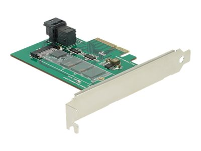 PCI Express Card > 1 x internal NVMe M.2 PCIe / 1 x internal SFF-8643 NVMe