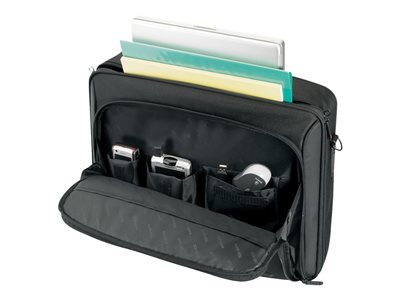 Targus 16INCH Classic Clamshell Notebook carrying case 16INCH black, red accents