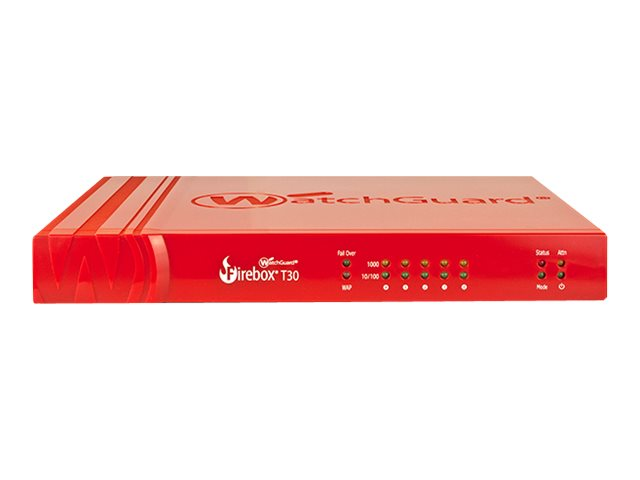 WatchGuard Firebox T30 - security appliance - with 1 year Total Security Suite