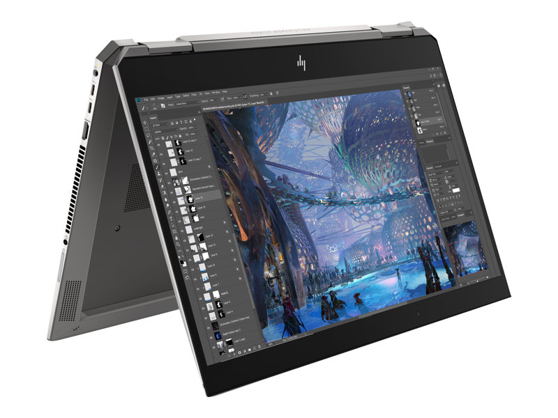 "HP ZBook Studio x360 G5 Mobile Workstation - 15.6"" - Core i5 8300H - 16 Go RAM - 256 Go SSD - Français"