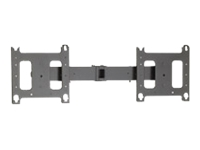 Chief PAC722 Dual Side-by-Side Accessory - Mounting component (extension column, 2 brackets) for 2 LCD displays - black - screen size: 38