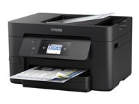 Epson WorkForce Pro WF-3720DWF - Imprimante multifonctions - couleur - jet d'encre - A4 (210 x 297 mm) (original) - A4/Legal (support) - jusqu'à 33 ppm (impression) - 250 feuilles - 33.6 Kbits/s - USB 2.0, LAN, Wi-Fi(n), NFC, hôte USB 2.0