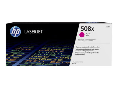 HP 508X - High Yield - magenta - original - LaserJet - toner cartridge (CF363X)