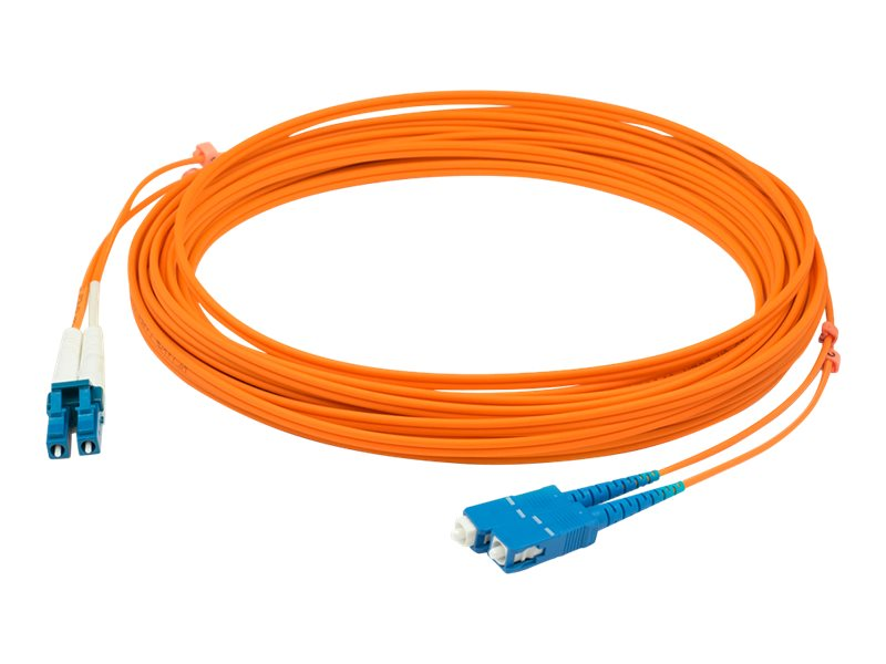 AddOn 30m LC to SC OM1 Orange Patch Cable - patch cable - 30 m - orange