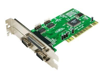 LogiLink PCI Interface Card Parallel 1x + Serial 2x - Adapter Parallel/Seriell - PCI - parallel, RS-232