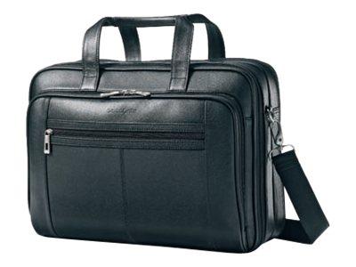Samsonite Checkpoint Friendly Leather Business Case Notebook carrying case 15.6INCH black