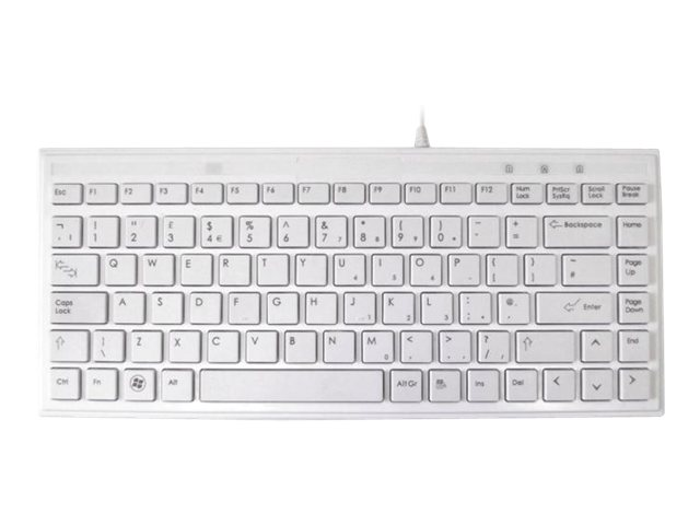 Image of Accuratus 395 - keyboard - UK - pure white