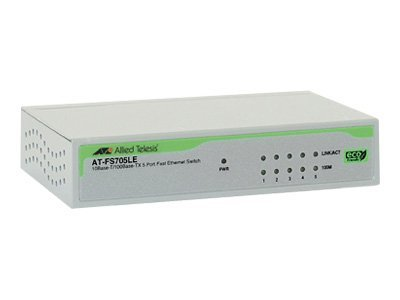 Allied Telesis AT FS705LE - Switch - 5 x 10/100 - Desktop