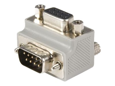 StarTech.com Right Angle DB9 to DB9 Serial Cable Adapter Type 2 - M/F (GC99MFRA2) - serial adapter