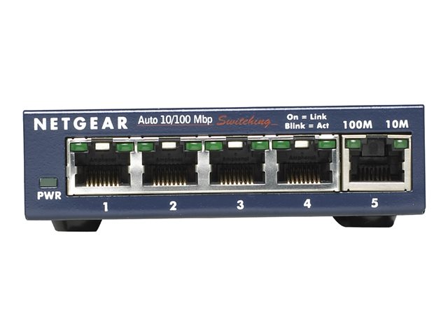 NETGEAR FS105 10/100 Desktop Switch