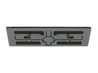 Peerless HL4UN-002-Q10 - Mounting kit (security fasteners, stand base) for LCD display - black (pack of 10)