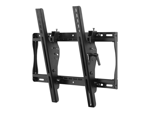 "Peerless SmartMount Universal Tilt Wall Mount ST640P - Kit de montage (support, plaque murale inclinable, attaches de sécurité) pour Écran LCD - noir - Taille d'écran : 32""-60"" - Interface de montage : 400 x 400 mm - montable sur mur"