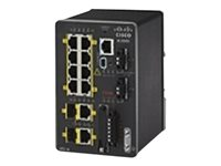 Cisco Industrial Ethernet 2000 Series Switch managed 8 x 10/100 + 2 x combo Gigabit SFP