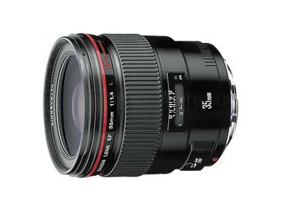 Canon wide-angle lens - 35 mm
