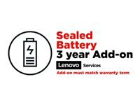 Lenovo Sealed Battery Add On - Battery replacement - 3 years - for ThinkPad P40 Yoga; P50s; P51; P51s; P52s; X1 Carbon; X1 Extreme; X1 Tablet; X1 Yoga; X380 Yoga; ThinkPad Yoga 20C0, 20CD; ThinkPad Yoga 12; 14; 15; 260; 370; 460