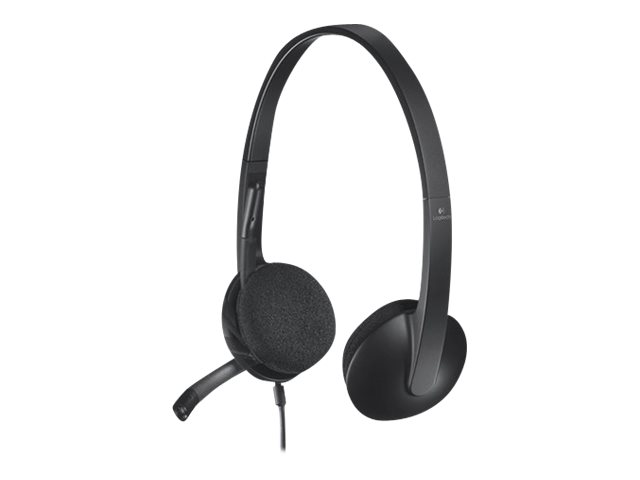 Logitech USB Headset H340 - Headset - On-Ear - verkabelt