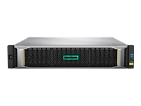 HPE Modular Smart Array 2050 SAN Dual Controller SFF Storage - Hard drive array - 24 bays (SAS-2) - rack-mountable - 2U