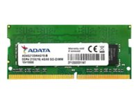 ADATA Premier Series - DDR4 - 4 GB - SO DIMM 260-PIN - 2133 MHz / PC4-17000 - CL15