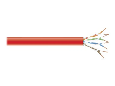 Black Box Connect bulk cable - 305 m - red