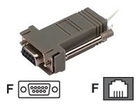 Draper Serial adapter DB-9 (F) to RJ-11 (F)