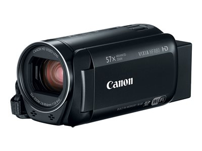 Canon VIXIA HF R80 Camcorder 1080p / 60 fps 3.28 MP 32x optical zoom flash 16 GB