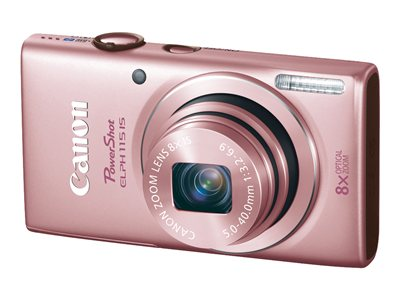 Canon PowerShot ELPH 115 IS Digital camera compact 16.0 MP 720p 8x optical zoom pi