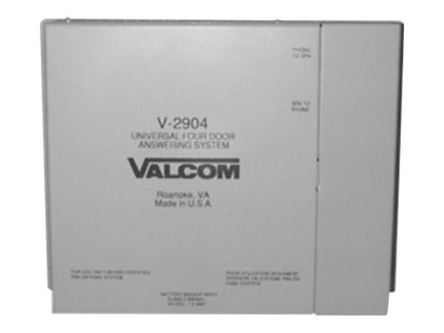 Valcom V-2904 Door answering unit four zones wired