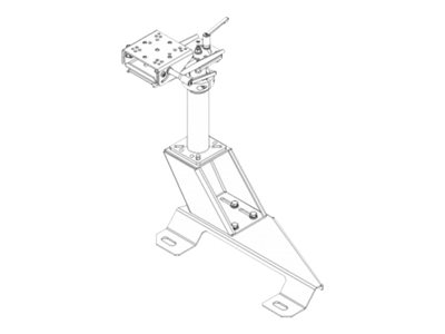 Havis PKG-PSM-147 Mounting kit (pole, swing arm, base plate, top offset plate) for notebook