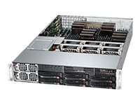Supermicro A+ Server 2042G-72RF4 Server rack-mountable 2U 4-way no CPU RAM 0 GB SAS
