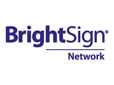 BrightSign Network Subscription license (2 years) 1 player hosted