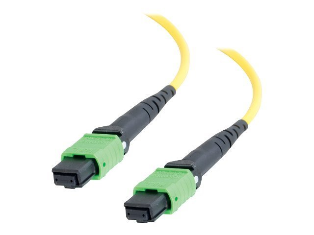 C2G 30m MTP 9/125 Single Mode OS2 Fiber Cable - Plenum CMP-Rated - Yellow - 100ft - network cable - 30 m - yellow