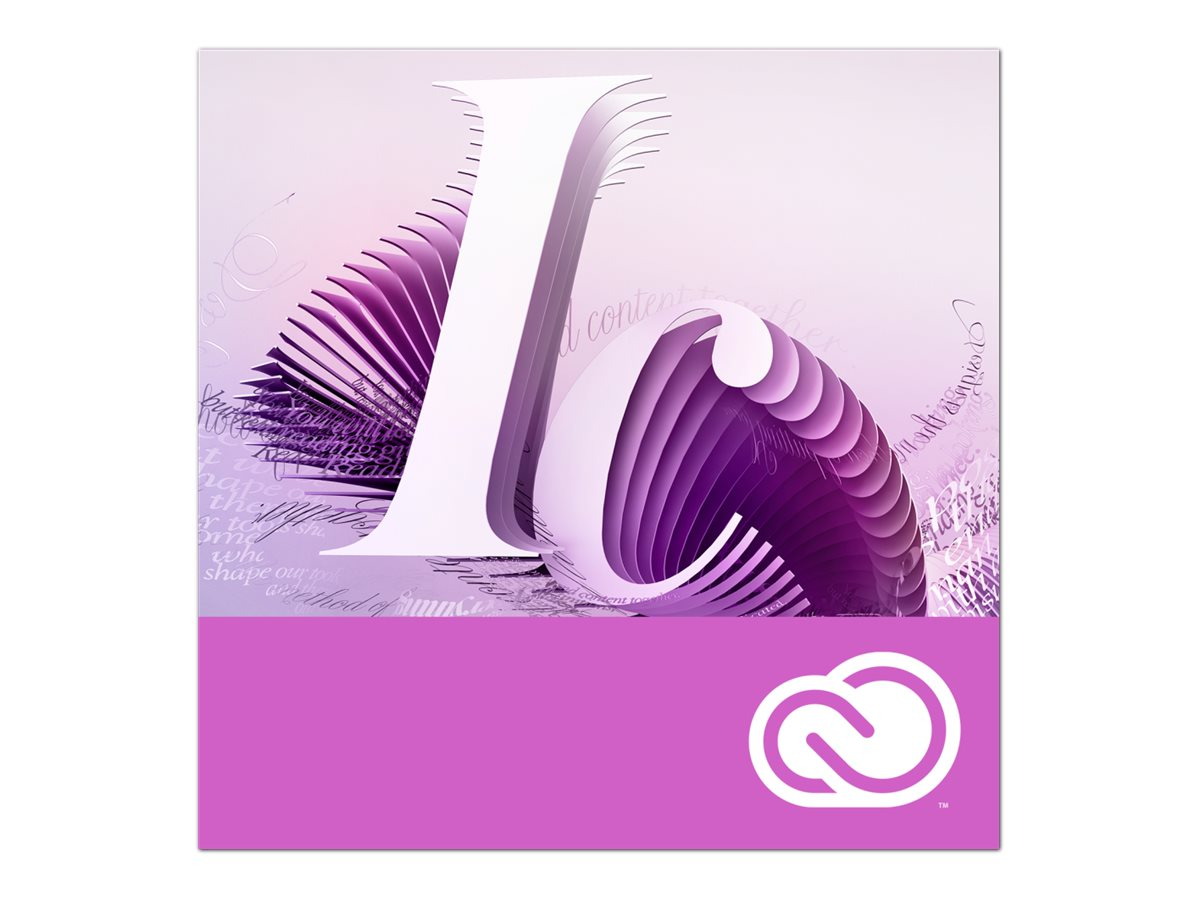 Adobe InCopy CC for Enterprise - Enterprise Licensing Subscription Renewal (monatlich) - 1 Benutzer - VIP Select - Stufe 14 (100+) - 3 years commitment