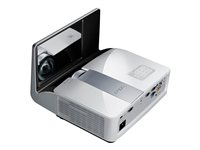 BenQ MW843UST - DLP projector - 3D - 3000 ANSI lumens - WXGA (1280 x 800) - 16:10 - ultra short-throw lens