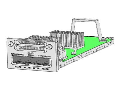 Cisco - Module d'extension - 10 GigE - 2 ports + 4 x SFP partagés - pour Catalyst 3850-12, 3850-12X48, 3850-24, 3850-48, C3850-24