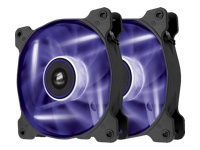Corsair Air Series LED SP120 High Static Pressure - Case fan - 120 mm - purple (pack of 2 )