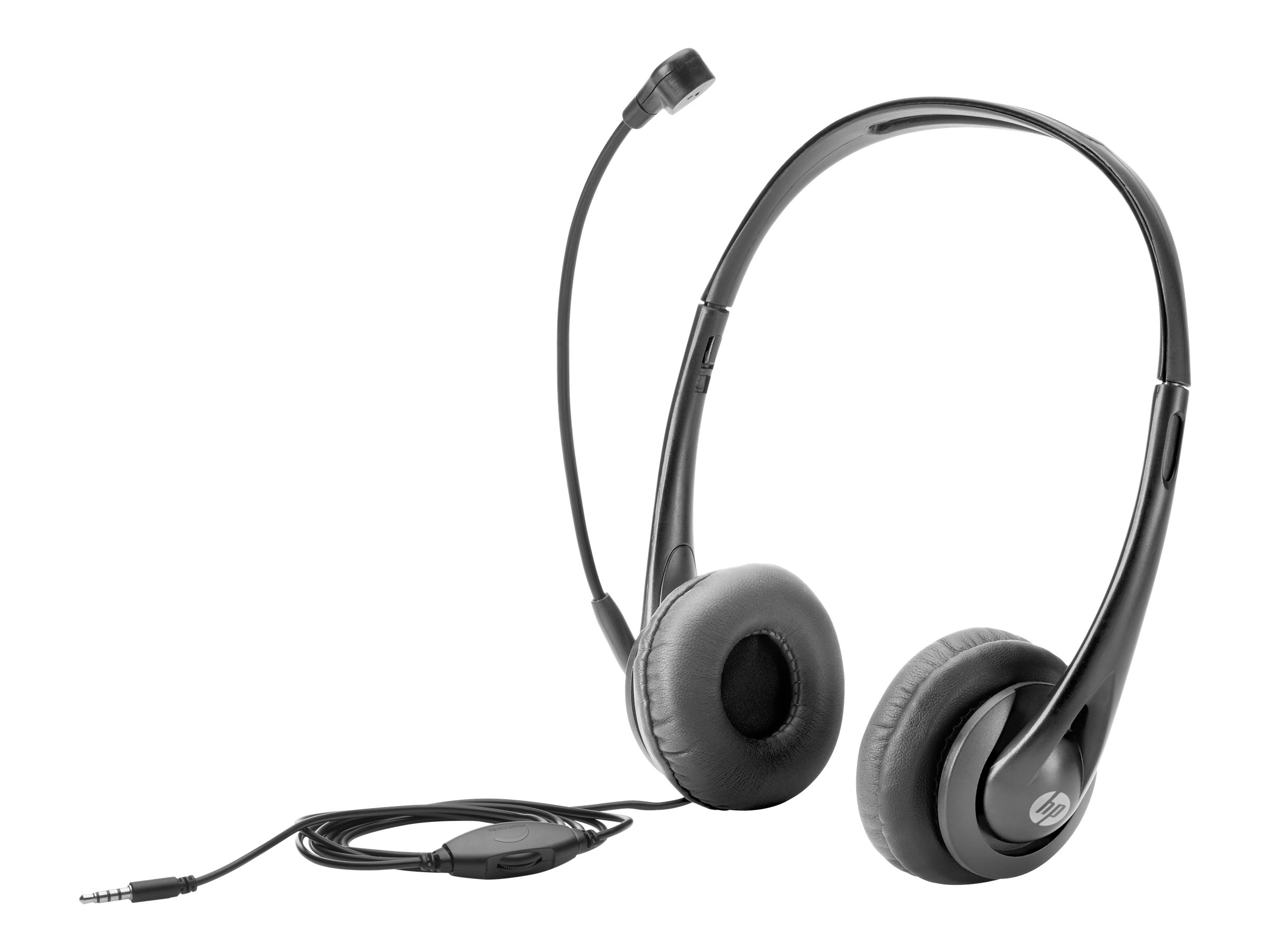 HP - Headset - On-Ear - verkabelt - Black Jack - für EliteBook 1040 G4; ProBook; x2; ZBook Studio G4 Mobile Workstation