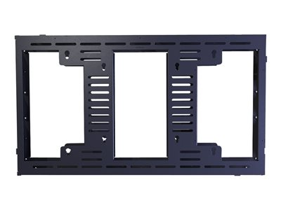 Premier Mounts MVW463 Mounting component (frame) for video wall black screen size: 46INCH