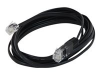 Lindy 3M RJ-11 to RJ-45 Modem Data Cable (Black)