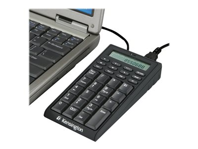 Kensington Notebook Keypad/Calculator with USB Hub Keypad USB US black