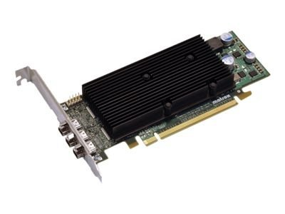 Matrox M9138 - Grafikkarten - M9138 - 1 GB - PCIe x16 Low Profile - 3 x ADC