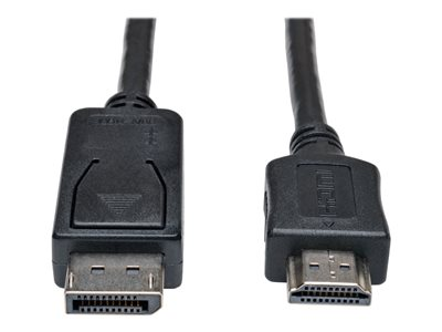 Tripp Lite 3ft DisplayPort to HDMI Cable Adapter Converter DP M/M 3'